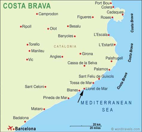 Spagna 2012: Programma del Viaggio
